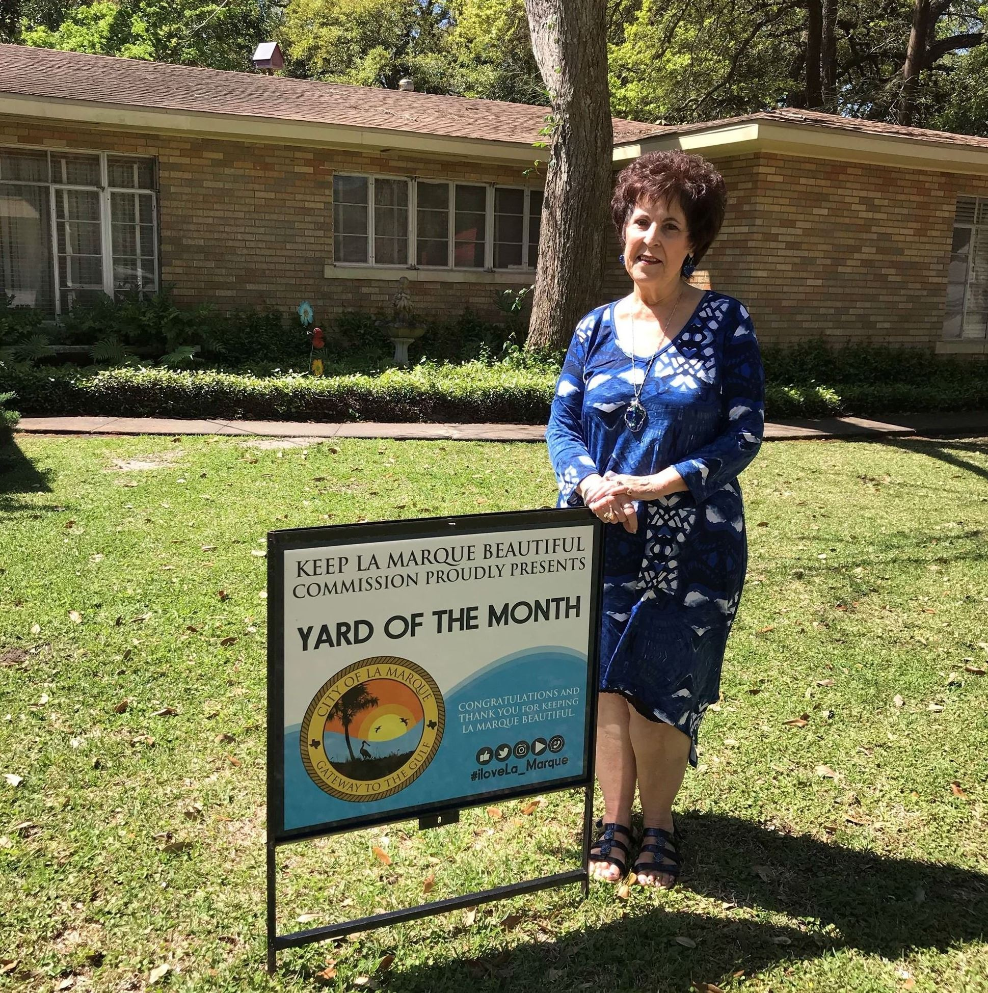 April 2018 Yard of the Month_
