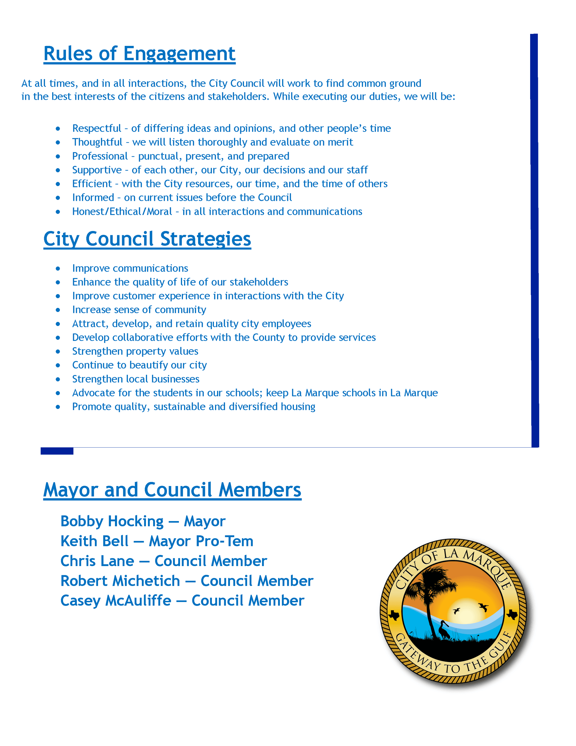 2019-2020 City Council Vision & Goals_page 2