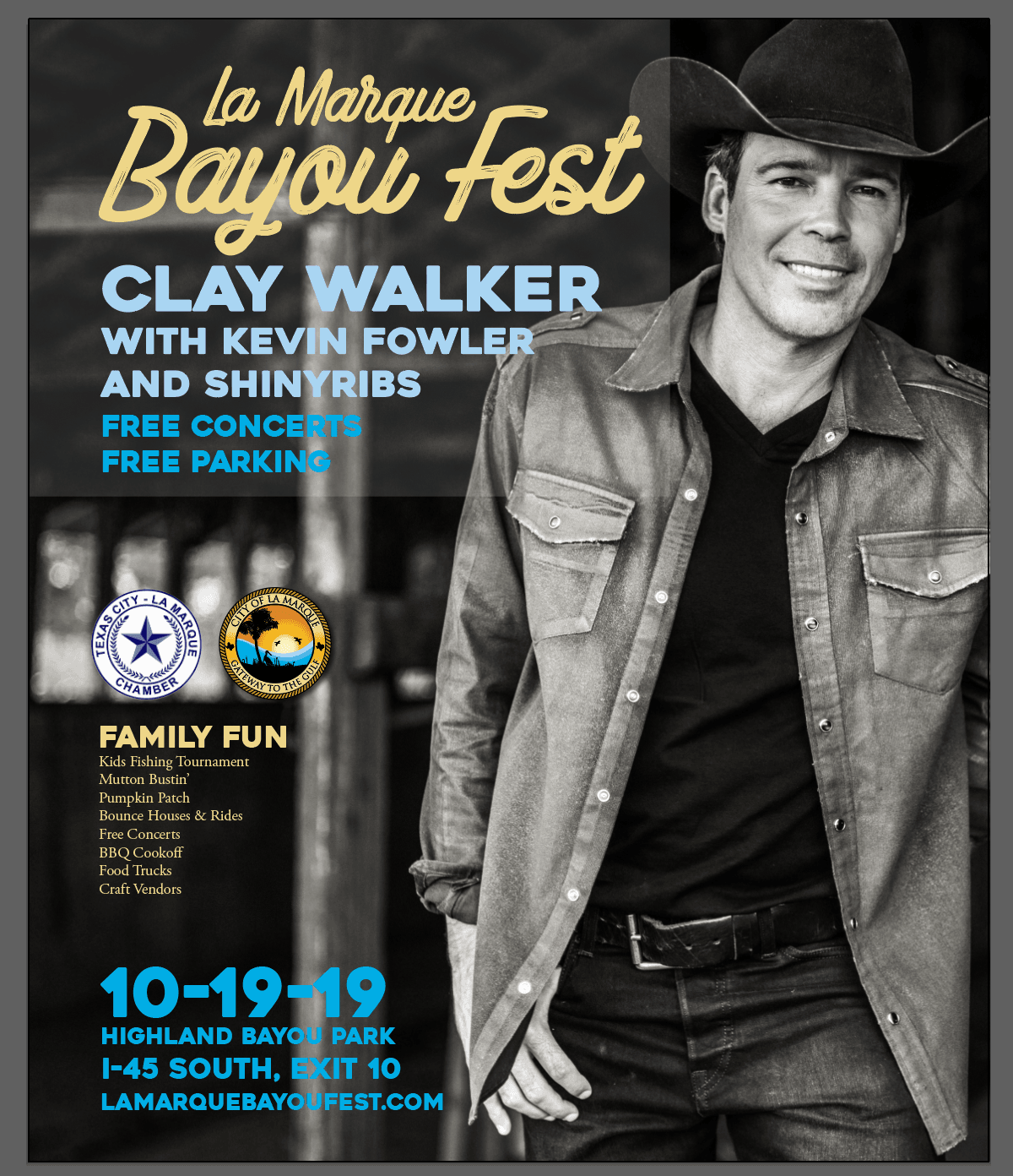 LMBF 2019_Clay Walker poster