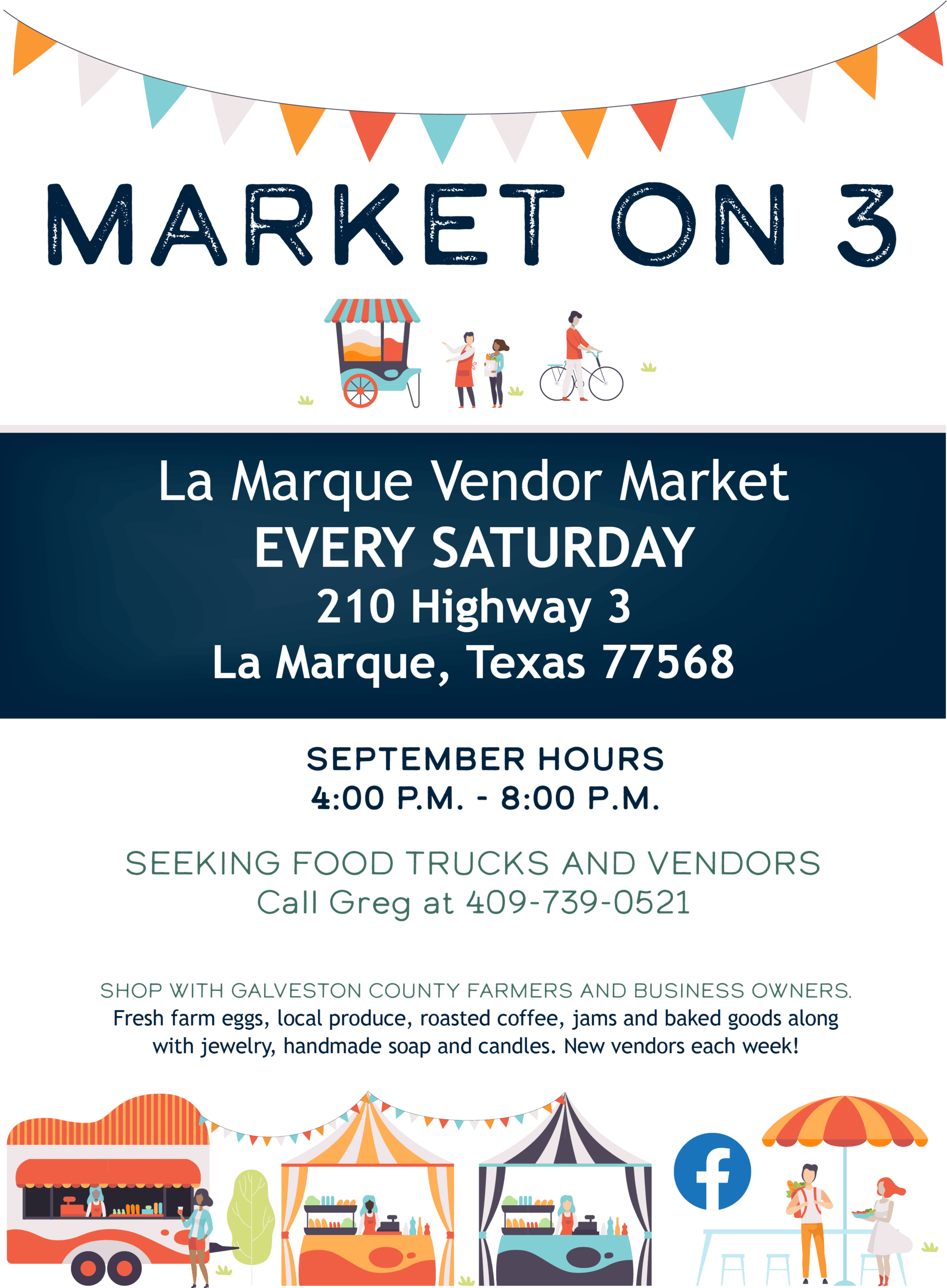 Market on 3 Flyer_Sept2019