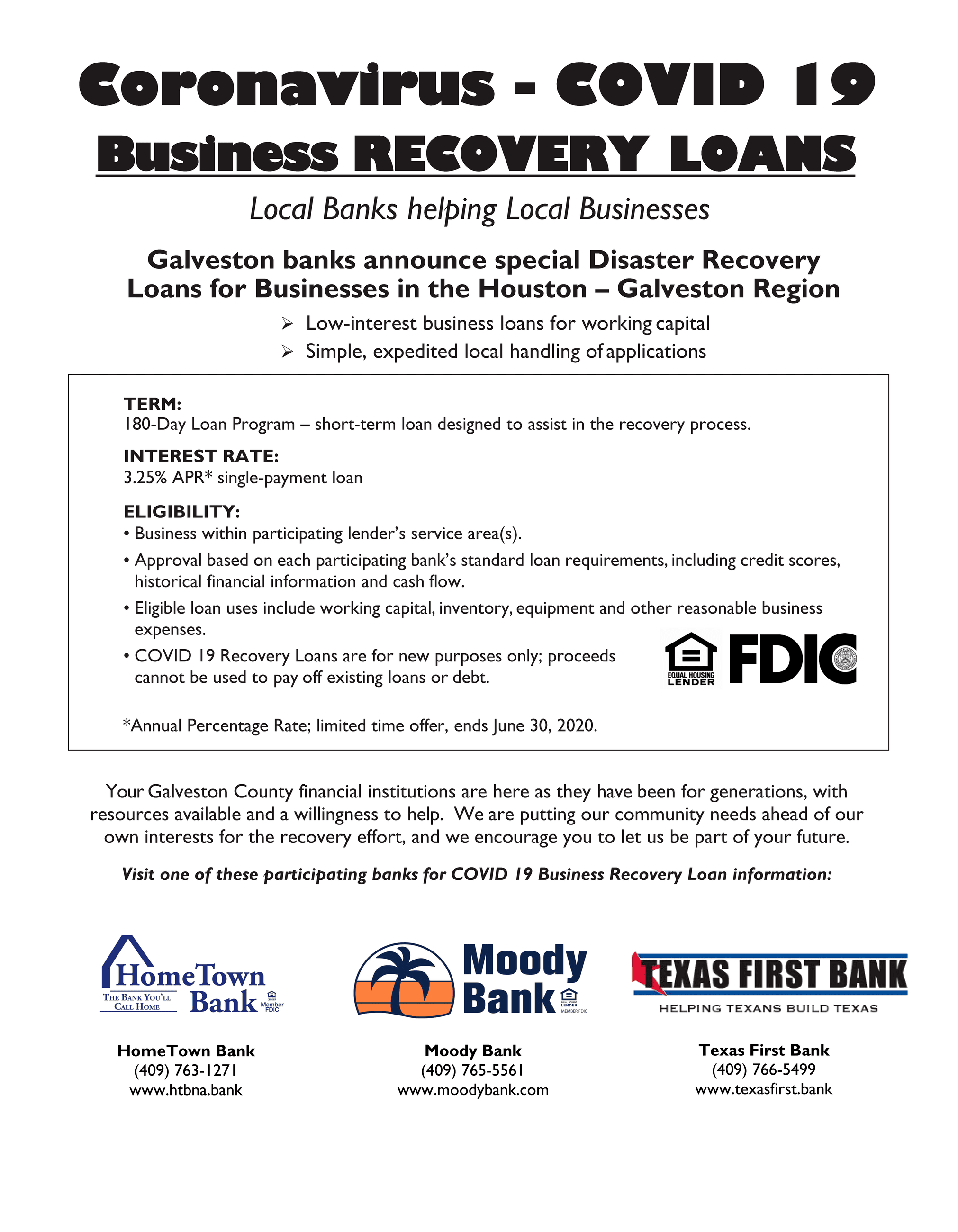 COVID-19 Business Recovery Loans flyer_3-19-20_