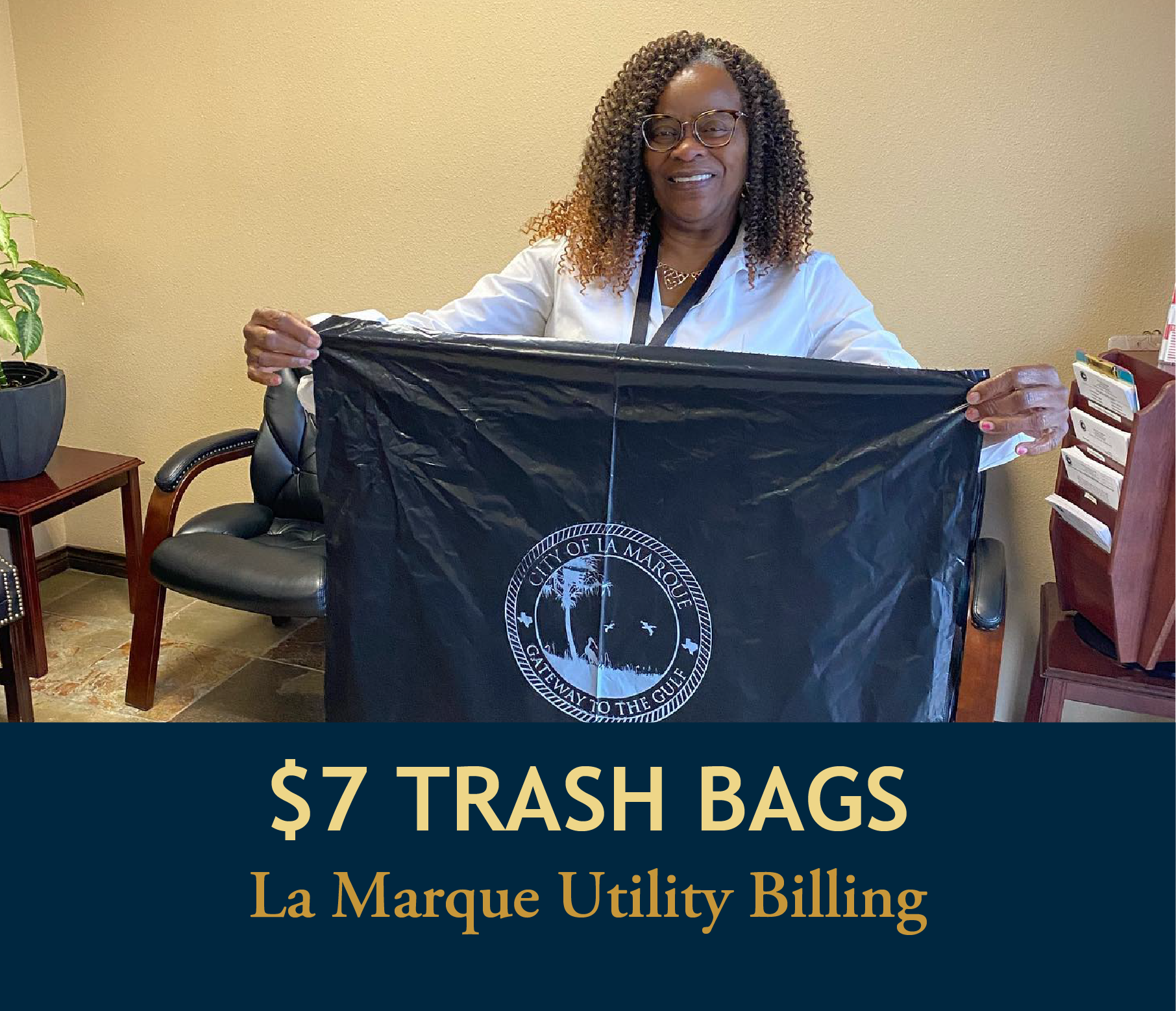 photo of City of La Marque Trash Bags