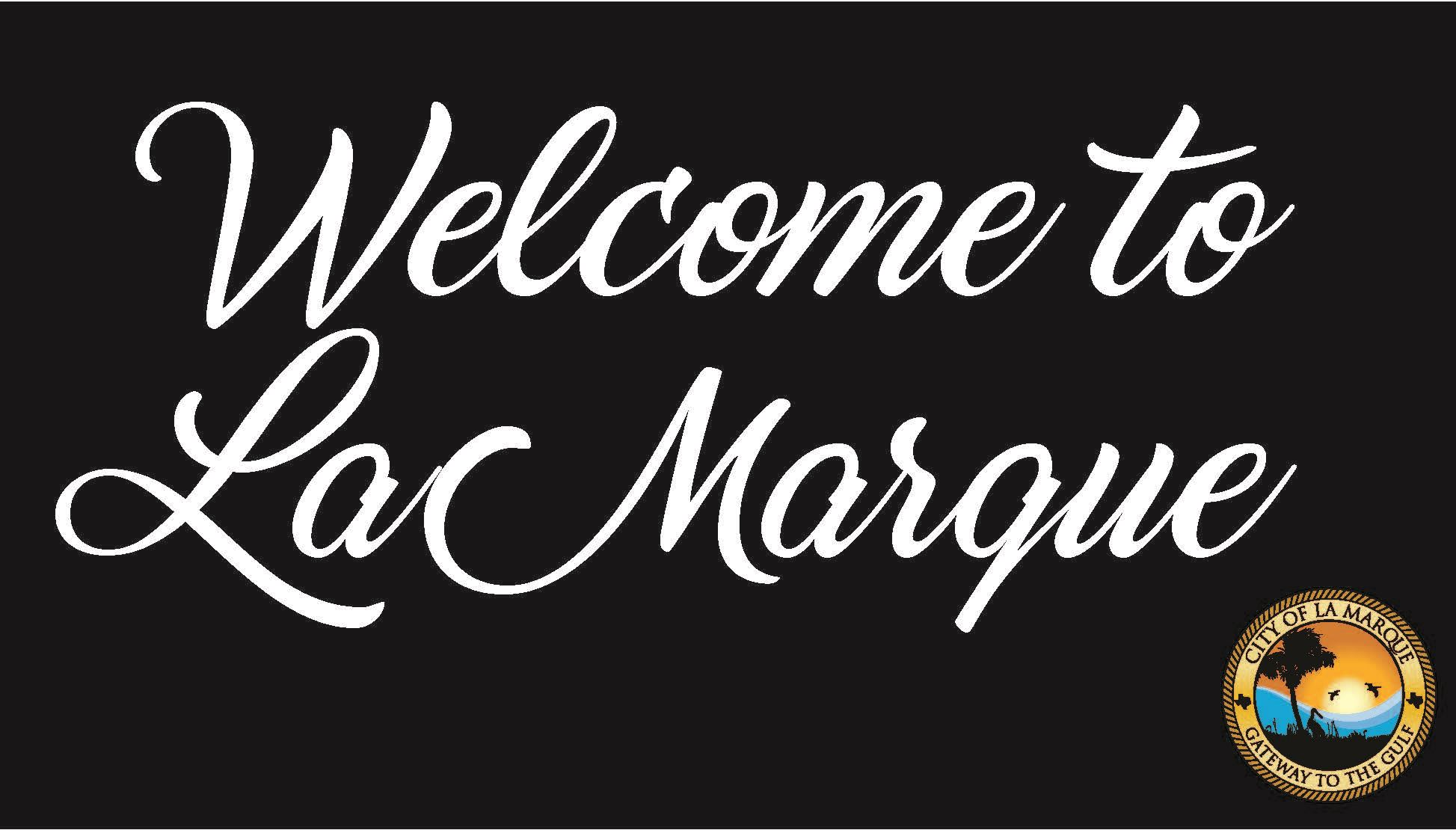 Welcome to La Marque graphic
